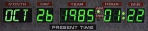 DeLorean Time Circuits