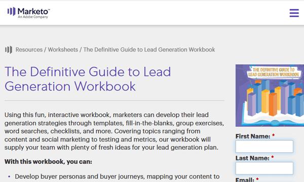 Marketo Lead Generation Screenshot Image