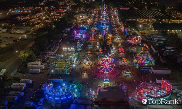 Minnesota State Fair aerial image.