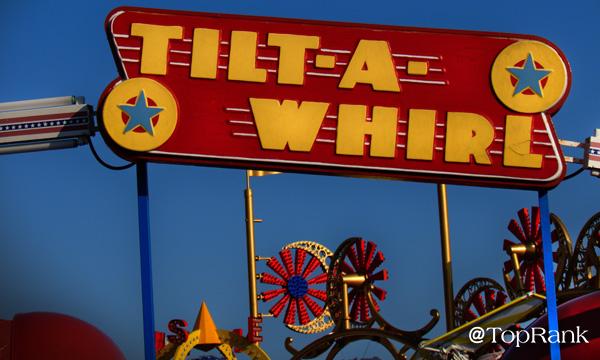 Tilt-a-Whirl Carnival Ride Image