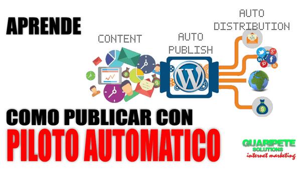Como Automatizar WordPress