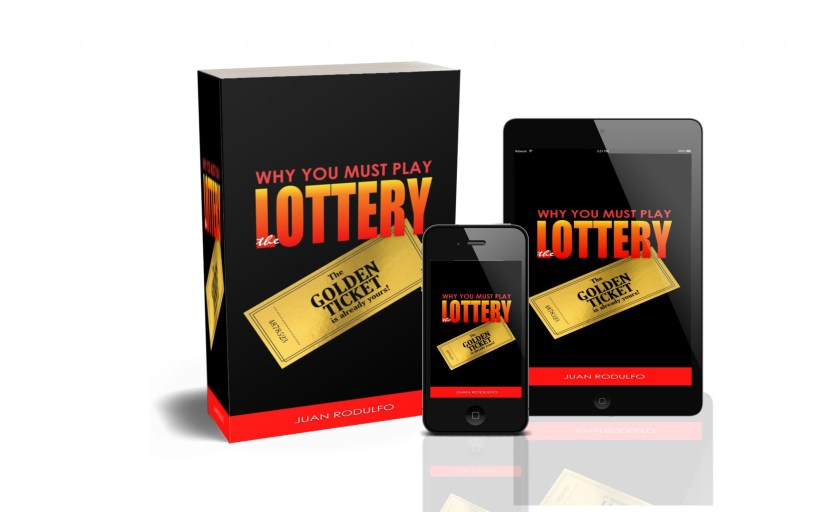 New Book: Why you must Play the Lottery