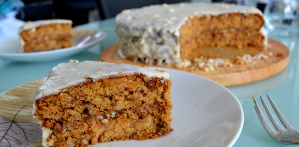 Healthy Carrot Cake (new recipe)