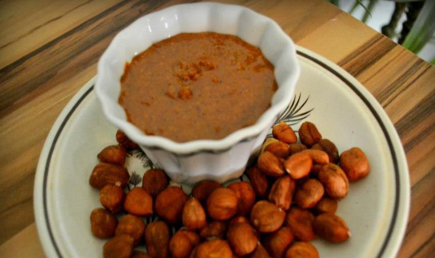 Home Made Hazelnut Butter