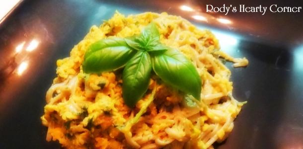 Lentil Pesto Pasta