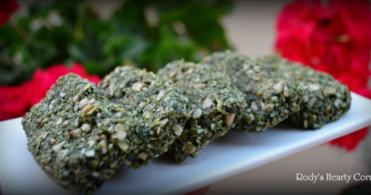Raw Spirulina Energy Bars