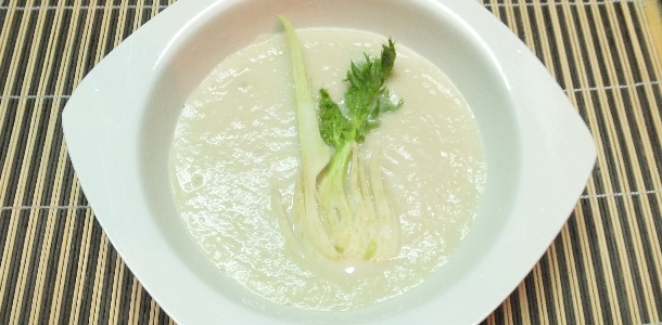 Fennel and Pear Soup