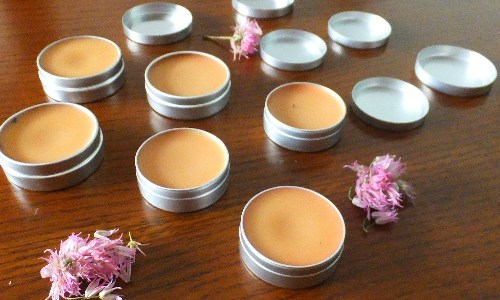 Homemade Cocoa Lip balm