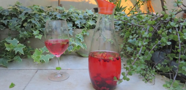 Homemade flavoured water