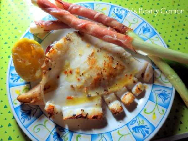 barbecue squid (Small)