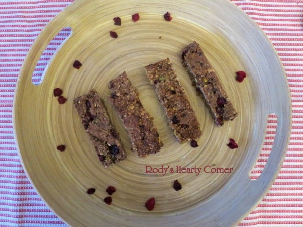 oat bars tray