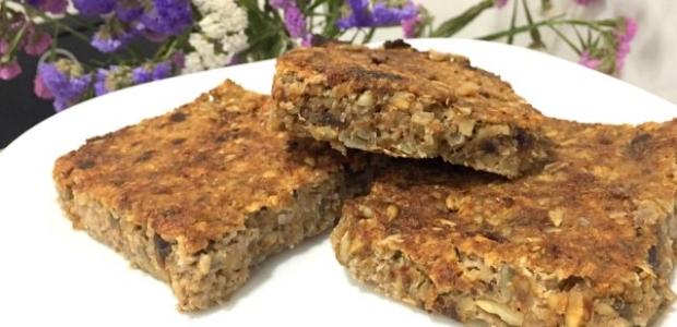 Heavenly fruit and nut bars (vegan, paleo, gluten free, dairy free)