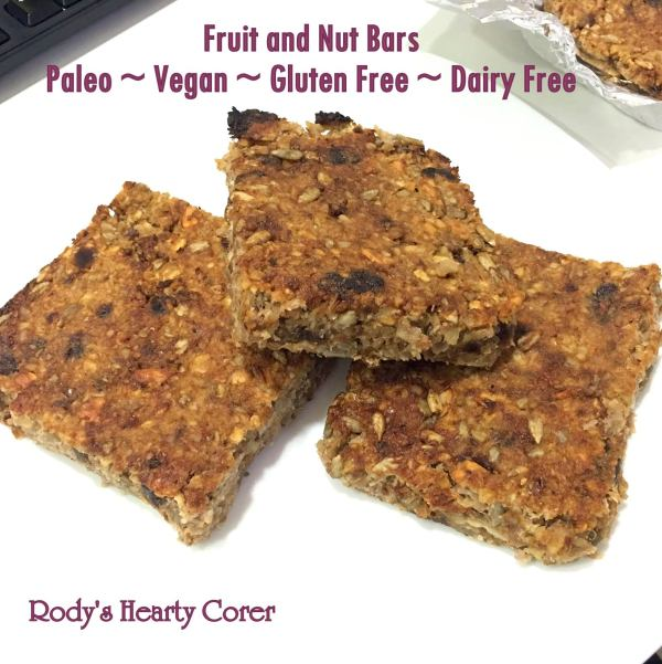 fruit and nut bars pinterest