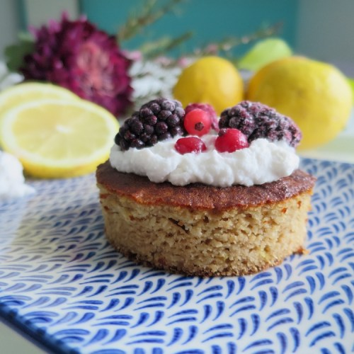 Paleo Lemon Sponge Cake