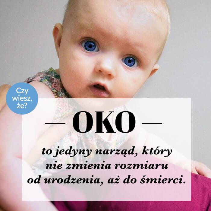 oczy niemowlaka
