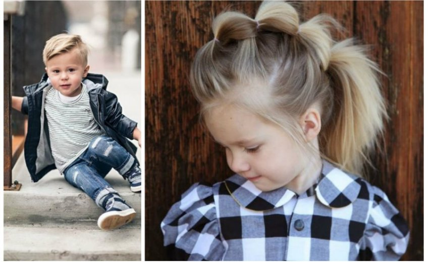 modne fryzury dla dzieci