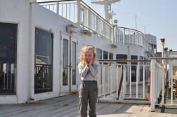 Oliwia na promie Yakushima Ferry 2