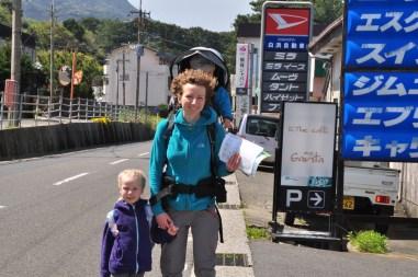 Yakushima idziemy do hostelu