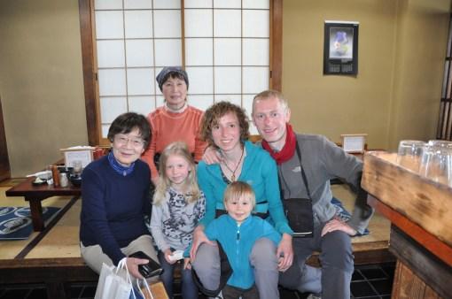 Nasze zdjęcie z właścicielką japońskiej knajpki