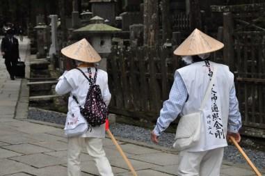 Pilegrzymi na Koya San
