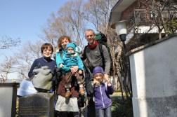 Pożegnanie z rodziną w Suwie