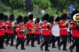 Królewska parada przy Pałacu Buckingham