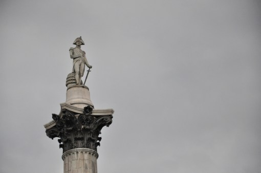 Posąg Nelsona na kolumnie