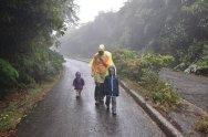 W drodze na wulkan Poas