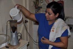 Chorreador - tradycyjny sposób serwowania kawy