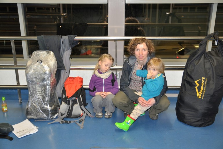 Berlin czekamy na lot Madryt - Kostaryka