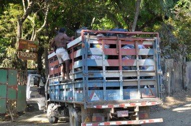 Odbiór odpadów w Montezumie