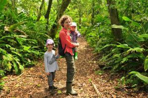 W dżungli w Tortuguero
