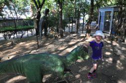 W parku dinozaurow Tbilisi