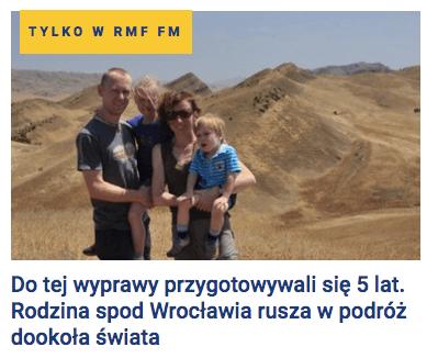 RMF FM - nasz wywiad