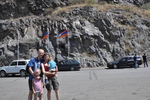 Górski Karabach granica z Armenią