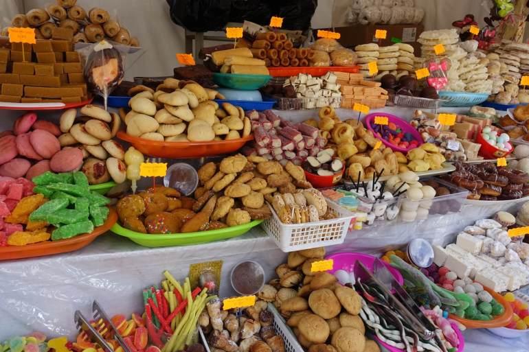 Cuenca - słodkości na Boże Ciało