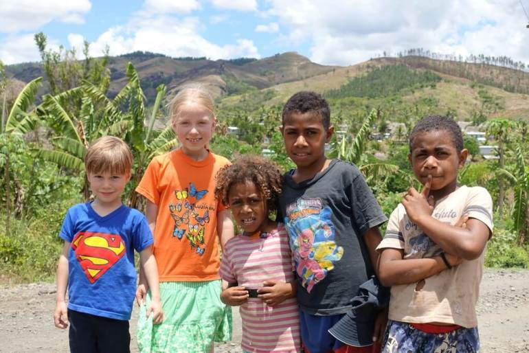 Dzieciaki na Fidżi