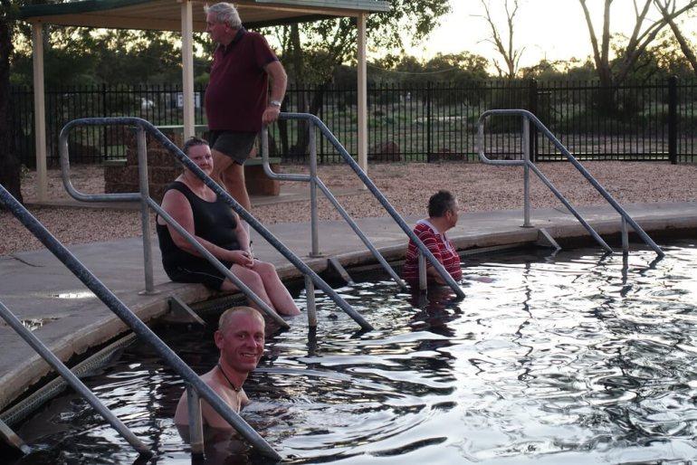 Kąpiele w gorących źródłach