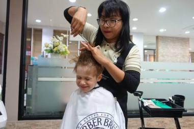 Fryzjer w Tajlandii