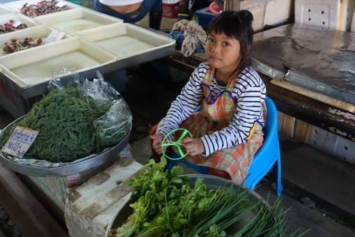 Mali sprzedawcy Tajlandia