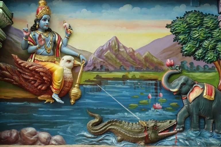 W hinduskiej świątyni