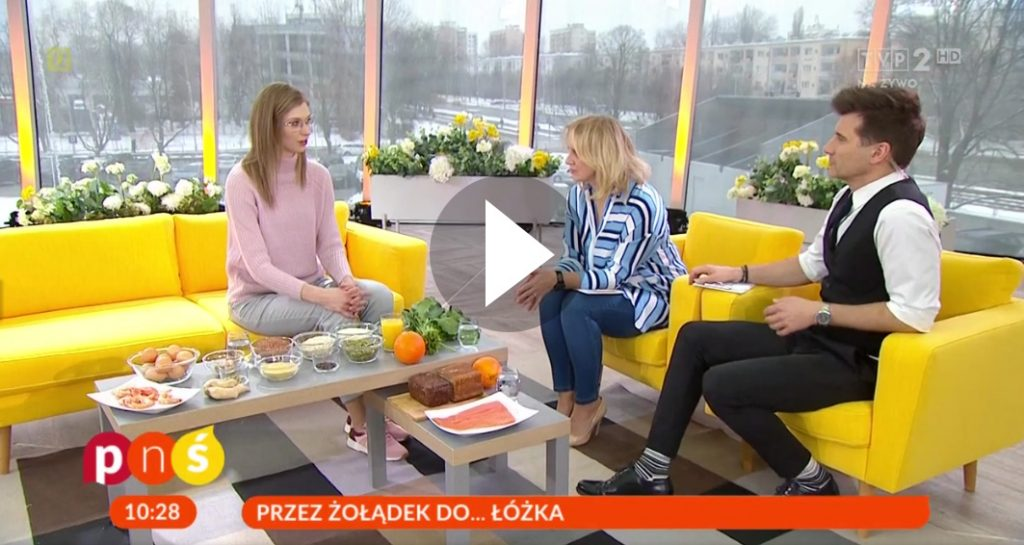 Agnieszka Gawlicka w pytanie na sniadanie