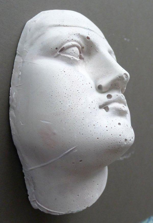 Plaster Heads for Artist