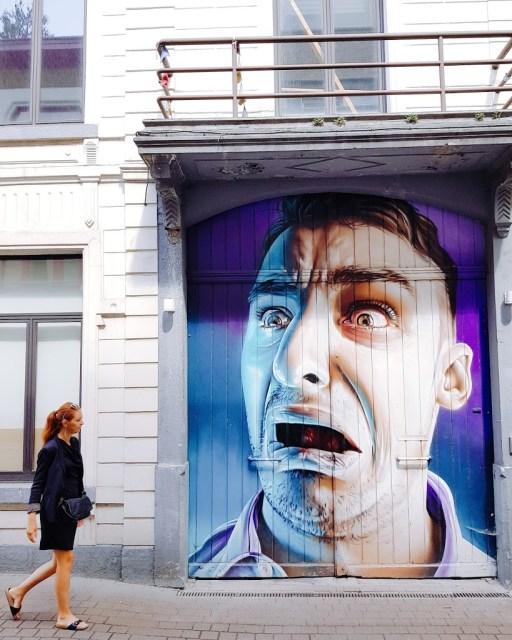 streetart Hasselt