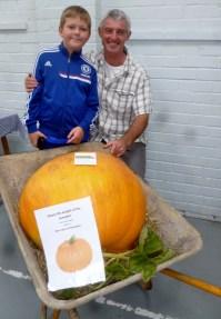 the heaviest pumpkin