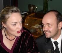 Marion Holm en Pedro Kruger in Die Tafel