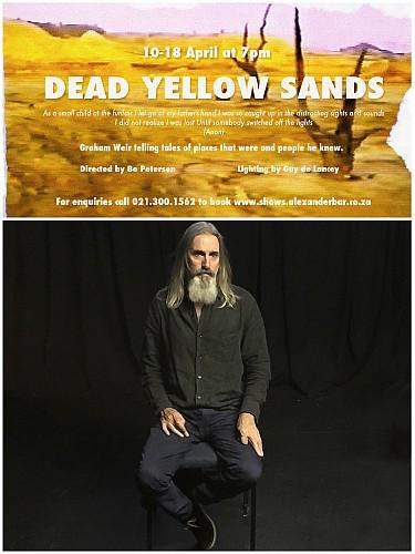 Graham Weir in Dead Yellow Sands