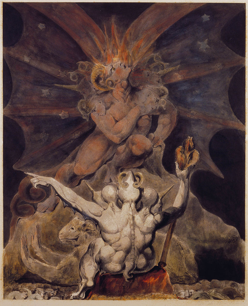 Red Dragon, William Blake