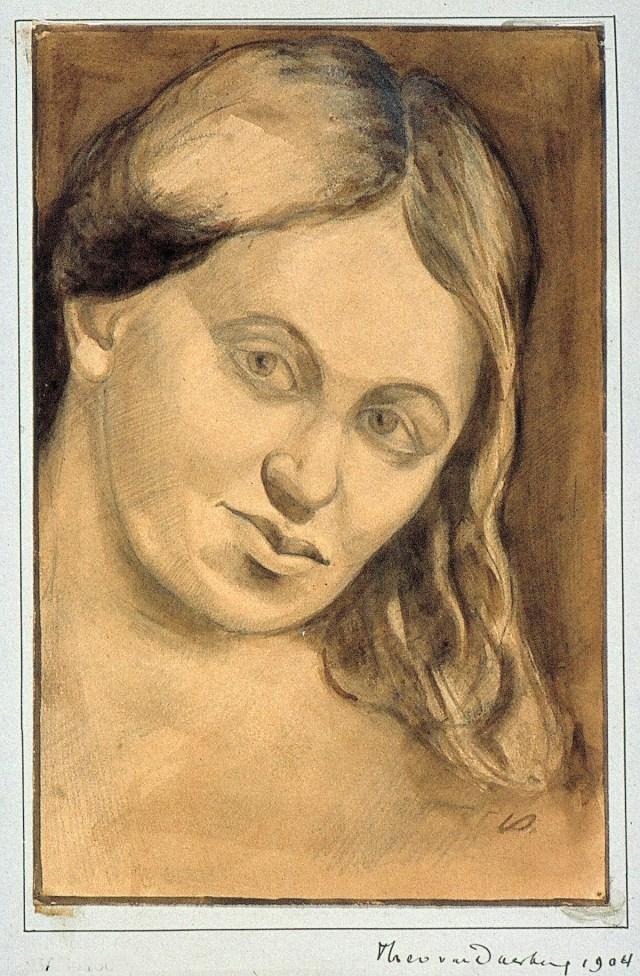Reinette (1904), deur Theo van Doesburg