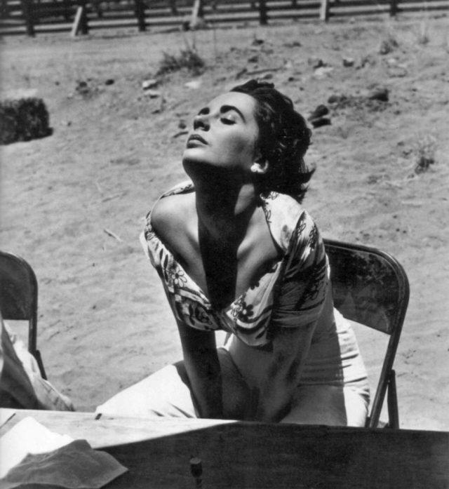 Elizabeth Taylor, 1955